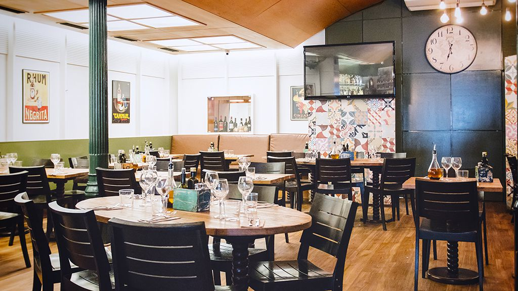 Restaurante italiano en el Borne